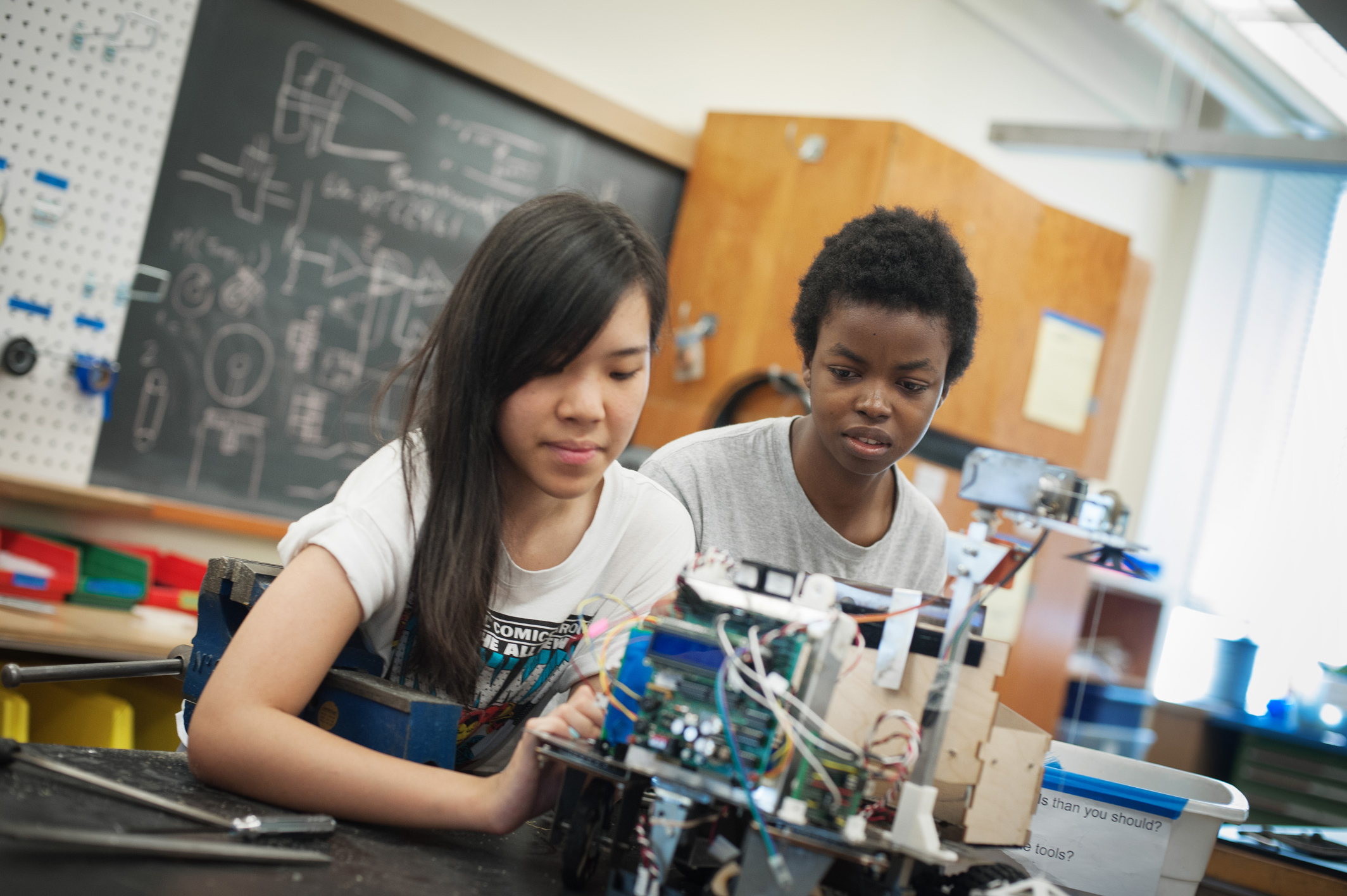 Programs spotlight: Math, chemistry, and physics