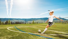 UBC, University of British Columbia, Okanagan, Stories, Sports, Soccer, Hayley, Heat