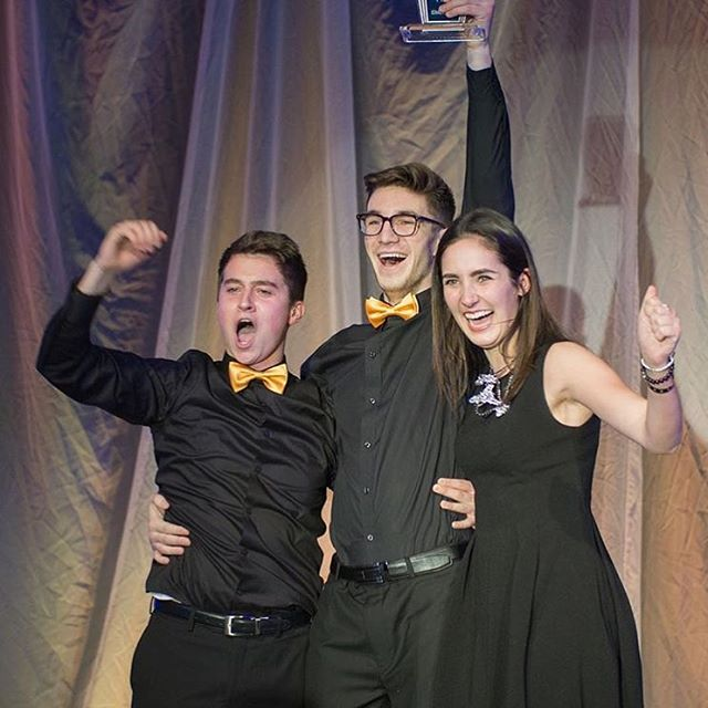 Huge congratulations to #UBC third-year Faculty of Management students Nick, Graeme, and Jennifer for their first first-place finish at the recent JDC West competition. #myubco #ubco @ubco_news