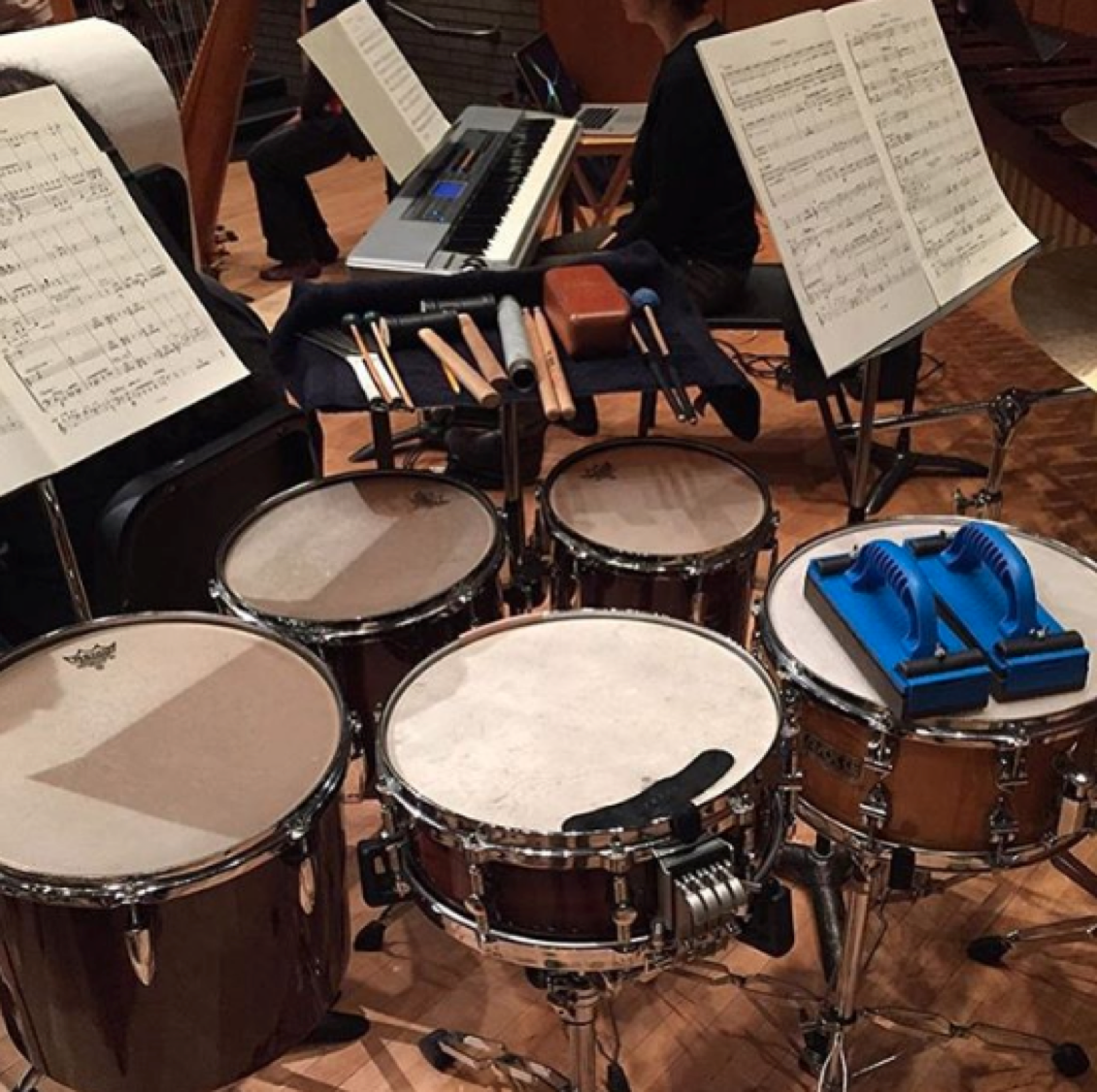 Just a peek into the life of a #UBCmusic student. Thanks to musician @gunnerwestjet for the photo!