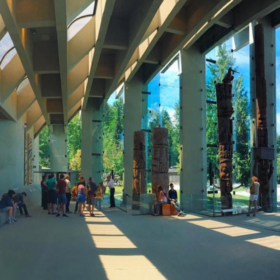 Sun's out @moa_ubc The Museum of Anthropology tells amazing stories about #FirstNation people through exhibits about their art.   #Repost @fleex3 #UBC #yvr
