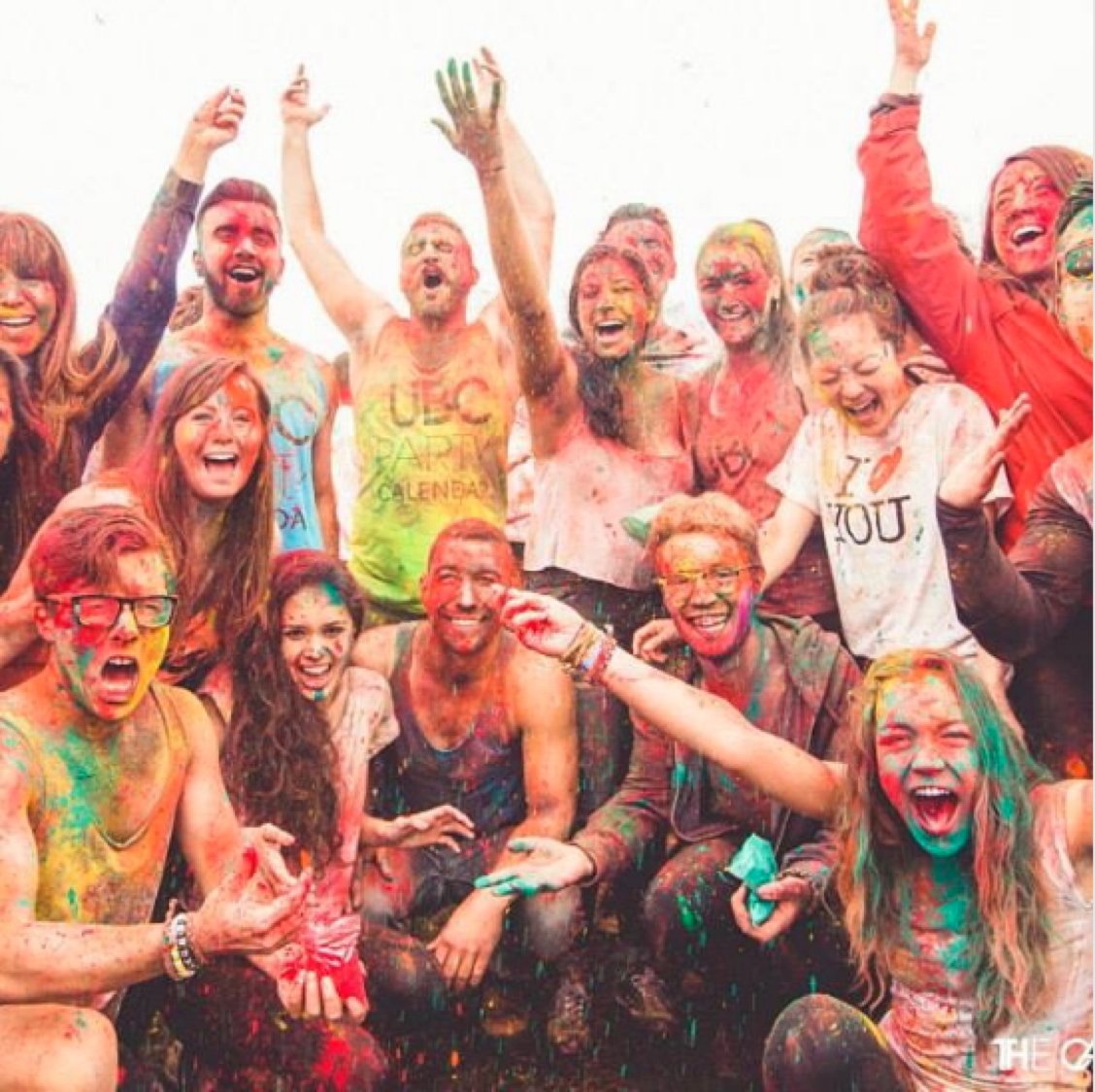 Holi at #UBC! photo by @diandratolton