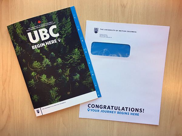Update your mailing address with UBC