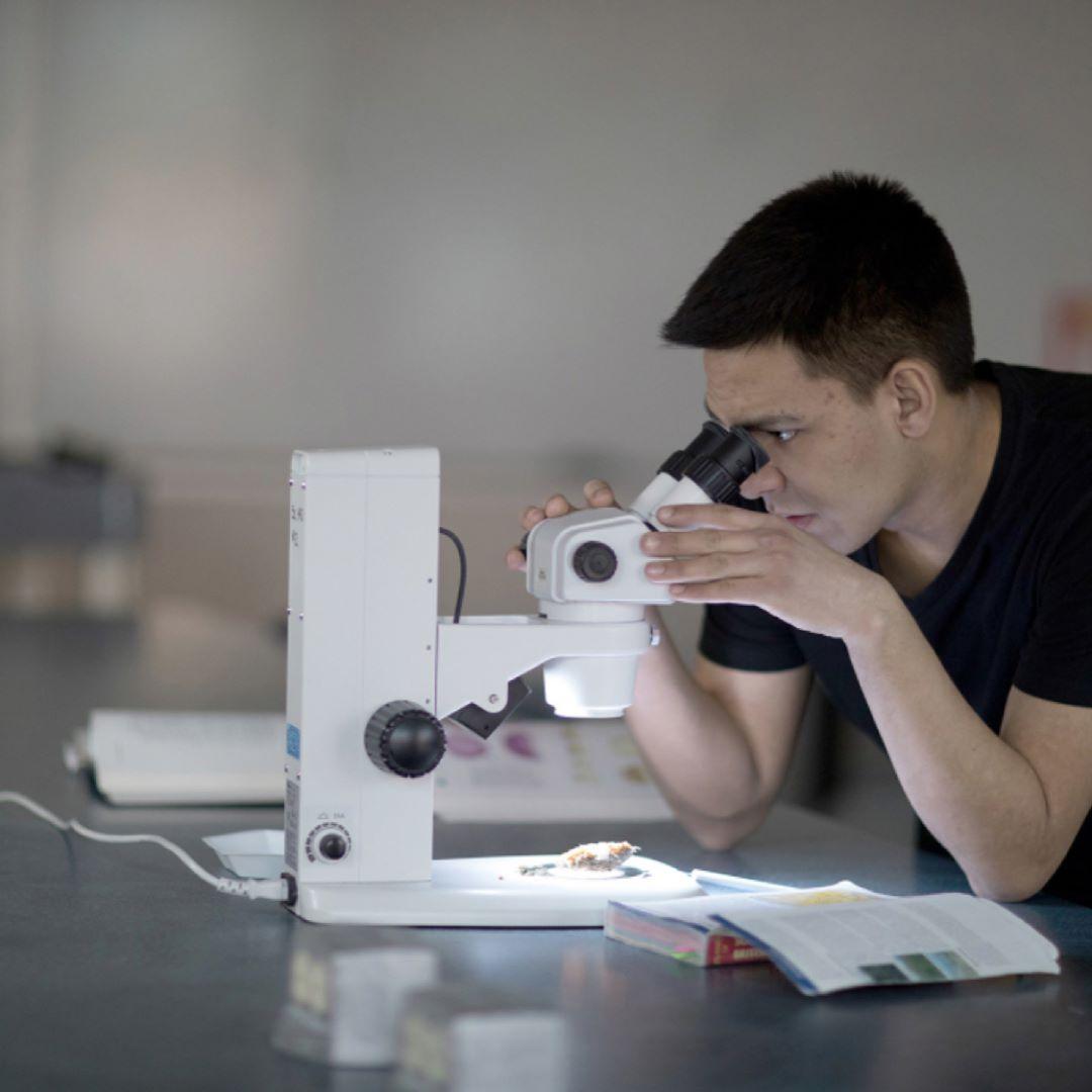 Jeremiah Hyslop, Bachelor of Sciences (Biology), Okanagan campus #UBCO.