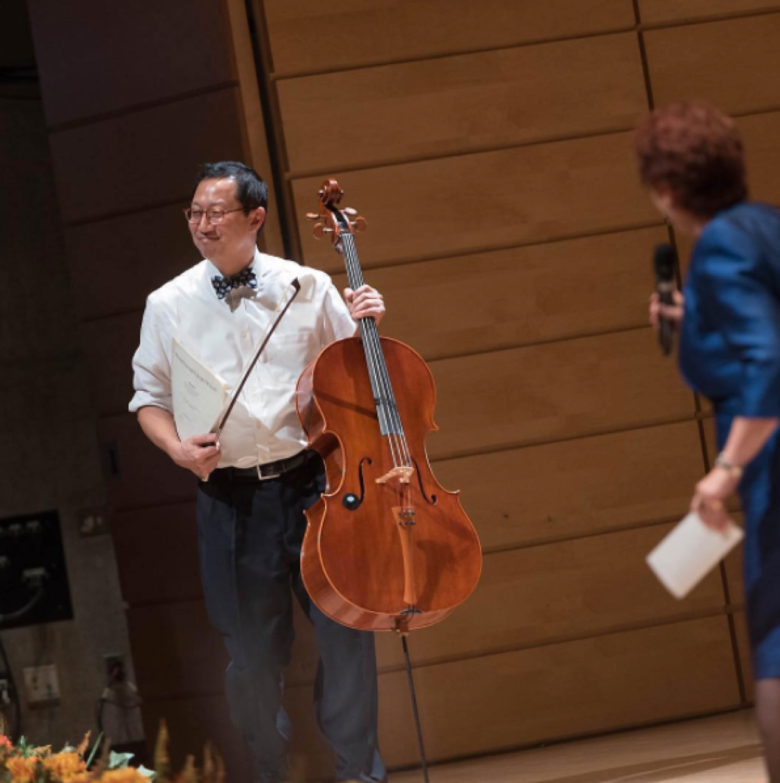 Repost from@universityofbc: @ubcpreztook the stage to perform with his cello last night at a concert to celebrate his formal Installation as#UBC's 15th President and Vice-Chancellor.#UBCTuumEst