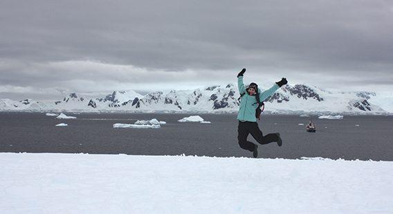 Katherine Tourigny, Antarctica, UBC research
