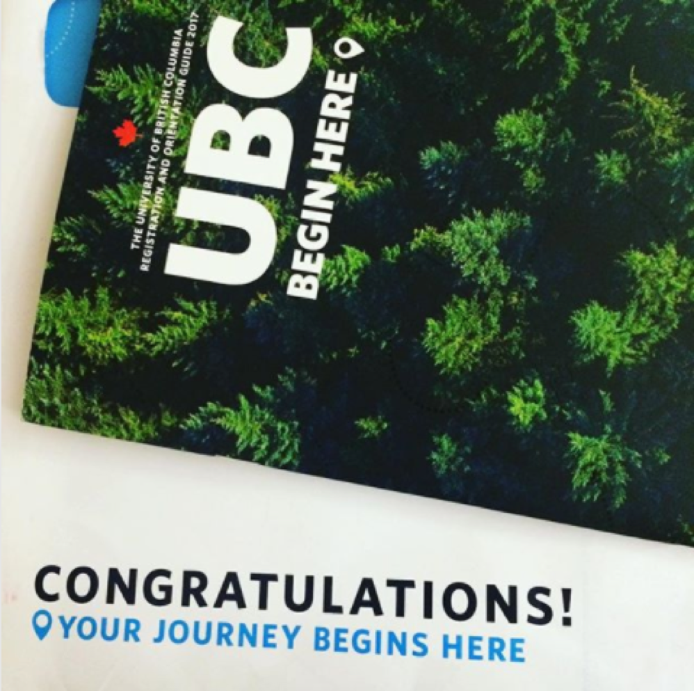 @danni.granger: Guess who's going to UBC? #iamubc
