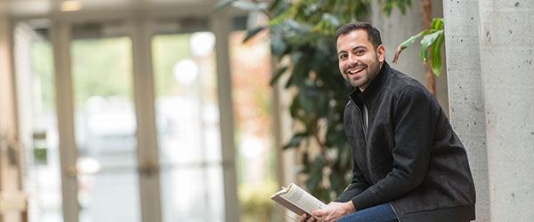 UBC student Abdullah Khair