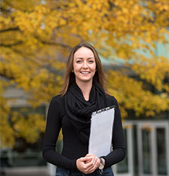 Enrolment Services Professional Claudia