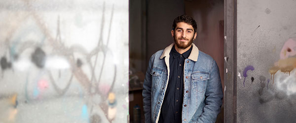 UBC student Moozhan Ahmadzadegan