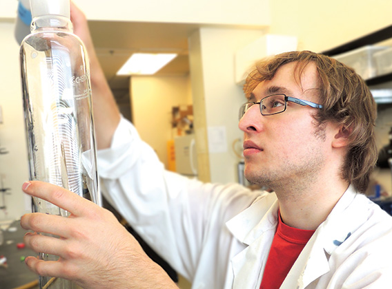 Jeffrey Kerkovius, Chemistry, UBC