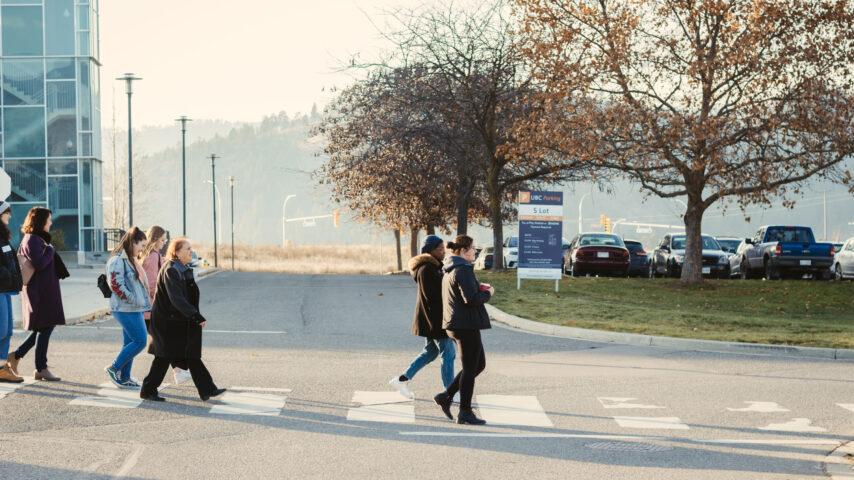 Group tours at UBC Okanagan